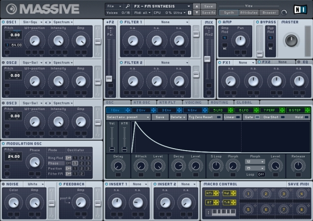 Massive FM Synthesis Patch