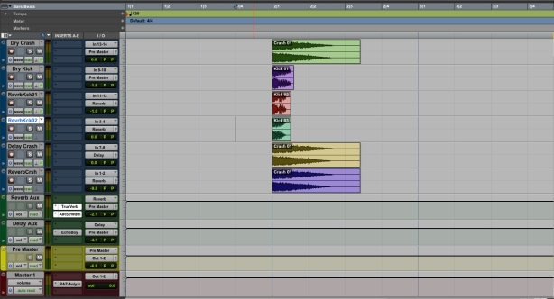 01. Reverb Kick Edit Window