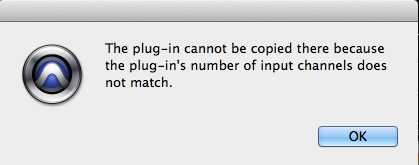 Plugin Copy Error